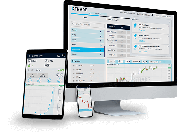 Xtrade platforms